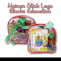 mainan anak edukasi block stick smart bar magic 1 set n.2022