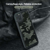 Nillkin Camo Softcase Hardcase Casing Case iPhone 11/11 Pro/11 Pro Max - Army, iPhone11