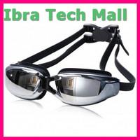 RUIHE Kacamata Renang Minus 3 5 Anti Fog UV Protection G7800M Black