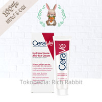 CeraVe Hydrocortisone Anti-Itch Cream for Rashes Due To Eczema