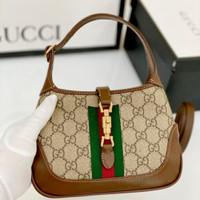 Gucci jacky 1961 mini pvc-box bag Original Leather 19 cm Vip quality