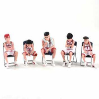 Apaffa Set Action Figure Slam Dunk Shohoku Team 5 PCS - AP5