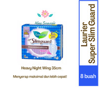 PEMBALUT LAURIER SUPER SLIM GUARD HEAVY NIGHT WING 35CM ISI 8
