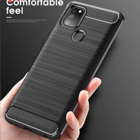 OPPO A53 / A33 SOFT CASE BRUSHED CARBON