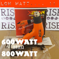 HEAT GUN MESIN AIR HOT PISTOL LOW WATT