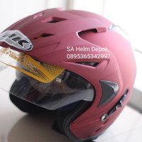 Helm Ink Dobel Visor SNI