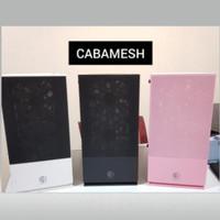 Cube Gaming CABAMESH - Tempered Glass m-ATX Gaming Case - Hitam