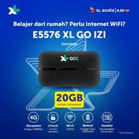modem Wifi 4G Huawei E5576 Unlock XL GO Izi 20GB GARANSI