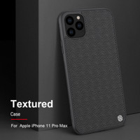 Nillkin Textured Softcase Casing Case iPhone 11/11 Pro/11 ProMax - Hitam, iPhone11