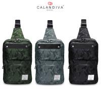 Calandiva Tas Selempang Pria Cross Body Sling Bag Travel Trendy - MS1