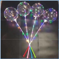 BALON LED BALON LAMPU BALON LED LAMPU JUMBO 8 MODE
