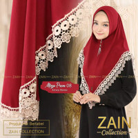 jilbab hijab bergo instant jersey ZAIN MIRZA PREM 08