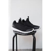 Sepatu lari running Champion Maverick black men Original size 42