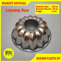 Loyang Press Cetakan Tulban Tanpa Sambungan Tipe Lotus LYTP05