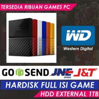 WD Passport Ultra 1TB USB 3.0 | FULL ISI GAME + FIFA 21 ORIGINAL
