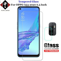 TEMPERED GLASS OPPO A33 2020 + TG KAMERA