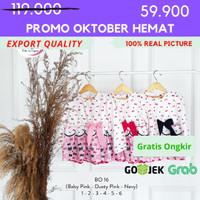[1-6] Baju Blouse Anak Perempuan Kualitas Export BO. 16 - 1, Baby Pink
