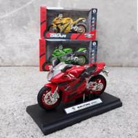 Mainan Diecast Miniatur Motor GP - Diecast Motor Balap Sport