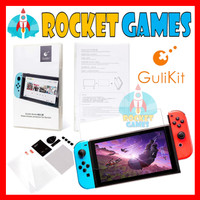 Gulikit NS11 2pc Tempered Glass Screen Protector Nintendo Switch V1/V2