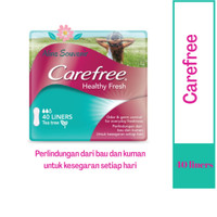 CAREFREE HEALTHY FRESH TEA TREE 40 LINERS