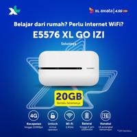 Mifi Modem Wifi 4G All Operator Huawei E5576 Free XL Go IZI 20GB