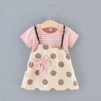 Baju bayi - baju bayi perempuan - gaun bayi - dress pendek baby