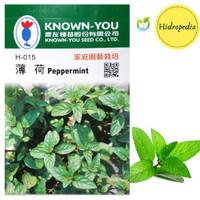 Benih dan Bibit Daun mint atau Peppermint isi 2 gr - Known You Seed
