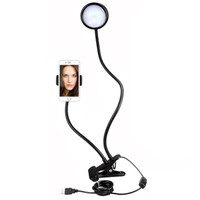 Lazypod 2in1 Ring light / Lampu selfie / LazyPod 2 in 1 Y4-06