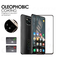 POCO X3 NFC TEMPERED GLASS 9D FULL SCREEN COVER