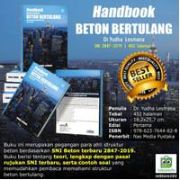 Softcover-Handbook Desain Struktur Beton Bertulang sesuai SNI2847-2019