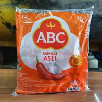 Saus Sambal ABC Asli Sachet - 1 Pak isi 22 Sachet @8gr - Sambel Stik