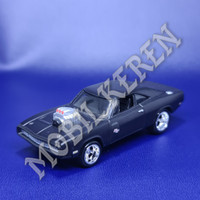 Hot Wheels Loose Fast & Furious Full Force 70 Dodge Charger R/T Black