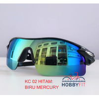Kacamata anti UV Sunglasses Sepeda - Sepeda Motor-sporty outdoor KC 02