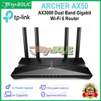 TP-Link Archer AX50 AX3000 Dual Band Gigabit Wi-Fi 6 Router