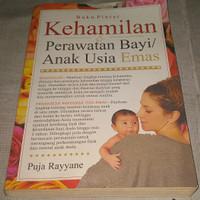 Buku Kehamilan Perawatan Bayi/Anak Usia Emas, bergambar (317-halaman)