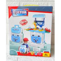 2IN1 Dokter Medical Koper No.8303 Mainan Dokter Dokteran