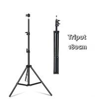 Tripod Stand Kamera Vlog & Studio Stand Light / Tripot Mobil Phone
