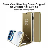 Clear View Standing Cover Samsung Galaxy A6 2018