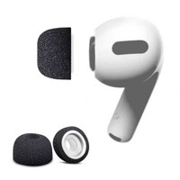 For AirPods Pro Sponge Silicone Memory Foam Ear Tips size S / M / L