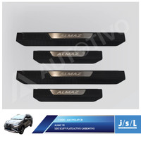 JSL Sillplate Samping Wuling Almaz 2019 Side Scuff Plate Activo Carbon