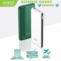 SERUNI POWERBANK ROBOT RT180 10000MAH Dual Input Port Type C & Micro