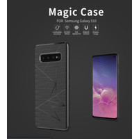 Nillkin Magic Softcase Hardcase Casing Case Samsung S10/S10+ Plus - Abu-abu, S10