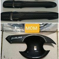 Paket Cover Handle Pintu+ Outer Mangkok Carbon Otoproject Calya