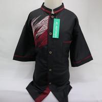 Dijual Baju Koko Muslim Anak Laki-laki Lengan Pendek Special Lebaran