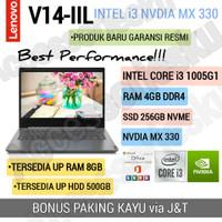 LAPTOP LENOVO V14-IIL-INTEL CORE i3 1005G1-4GB-SSD 256GB-MX 330-WIN 10