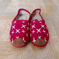 Slip on wanita import/Size 38/Sepatu Second import/Sepatu wanita