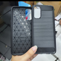 OPPO RENO 4 INDO NEW SOFTCASE SLIM FIT SPIGEN CARBON