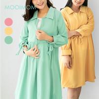 MOOIMOM Sleeves Rope Top - Atasan Baju Hamil & Menyusui
