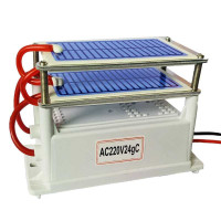 Ozone Generator 24g/H Sterilizer Neutral Purifier Udara AC 220v *ZR18