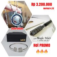 Paket Kalung Pendant LSM Reborn + Gelang LSW Bracelet + Magic Stick